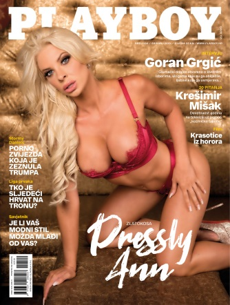 Playboy Croatia - May 2019
