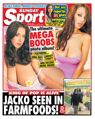 Sunday Sport - 11 May 2019