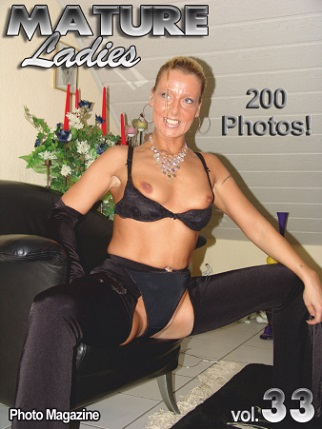 Mature Ladies Adult Photo Magazine - May 2019