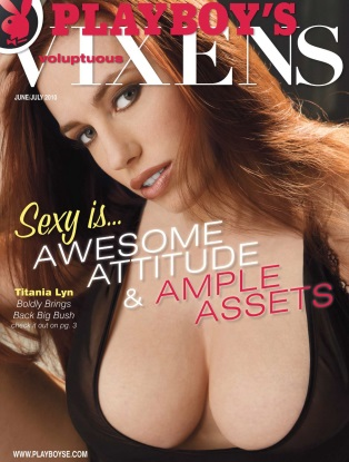 Playboy's Voluptuous Vixens - June/July 2010