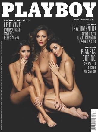 Playboy Italy - Ottobre 2012