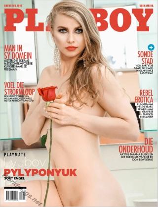 Playboy Suid Afrika - August 2019