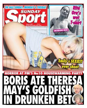 Sunday Sport - 04 August 2019