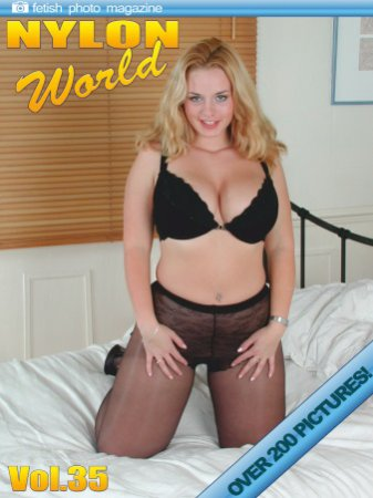 Nylons World Adult Fetish Photo Magazine - July 2019