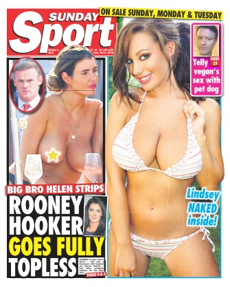 Sunday Sport - 06 October 2019
