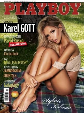Playboy Slovakia - October 2019