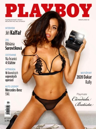 Playboy Slovakia - January 2020