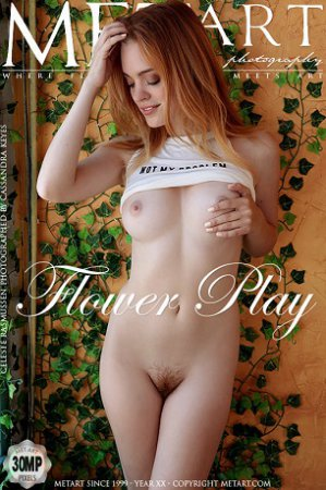 Met-Art - Celeste Rasmussen - Flower Play - 2019 by Cassandra Keyes