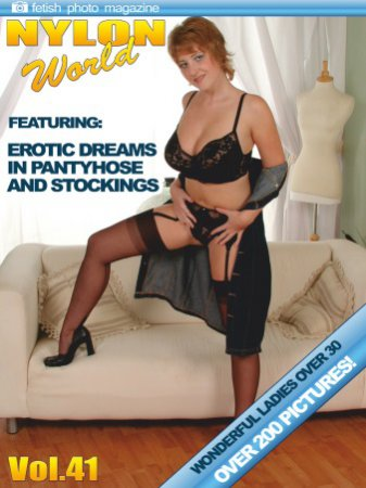 Nylons World Adult Fetish Photo Magazine - January 2020