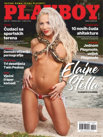 Playboy Croatia - April 2020