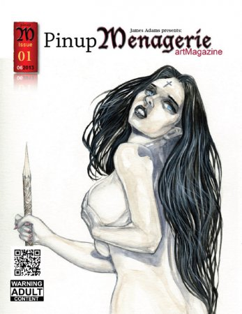 Pinup Menagerie artMagazine - June 2013