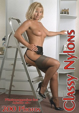 Classy Nylons Adult Photo Magazine - June 2020