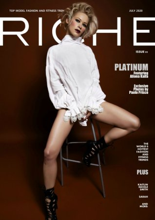 Riche Magazine - Issue 85 July 2020