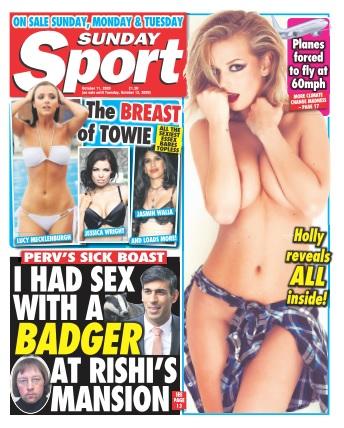 Sunday Sport - 11 October 2020