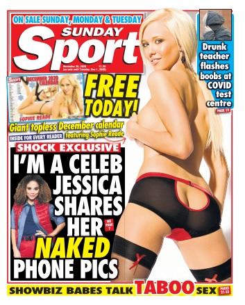 Sunday Sport - 28 November 2020