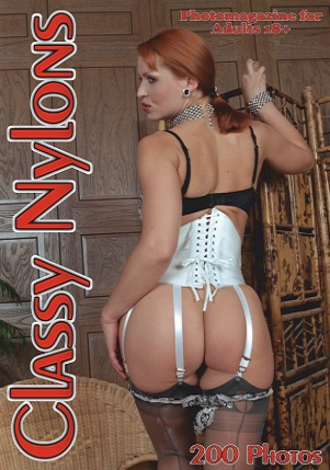 Classy Nylons Adult Photo Magazine - Volume 43 2021