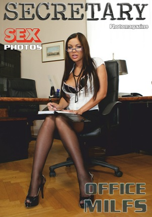 Sexy Secretary Nylon MILFs Adult Photo Magazine - Volume 20 2021
